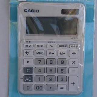 カシオ(CASIO)のカシオ電卓 ピュアホワイト(オフィス用品一般)