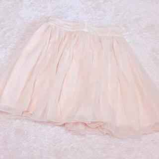 ローリーズファーム(LOWRYS FARM)のローリーズファーム*オーガンジースカート(ミニスカート)