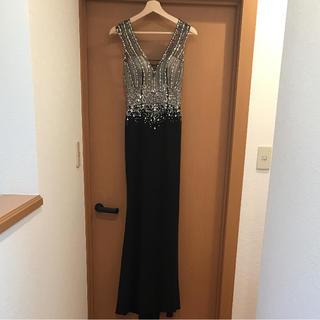 AngelR - JEANMACLEANロングドレス ジャンマクレーン ブラック