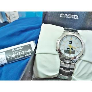 カシオ(CASIO)のCASIO タフソーラー LCW-M200 電波ソーラー腕時計(腕時計(アナログ))