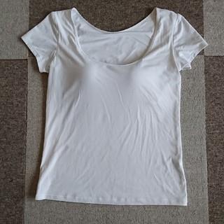 ユニクロ(UNIQLO)のUNIQLO   AIRism  ブラトップTシャツ(アンダーシャツ/防寒インナー)
