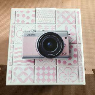 キヤノン(Canon)のCanon EOS m100 リミテッド ピンク 国内正規品 ミラーレス(ミラーレス一眼)