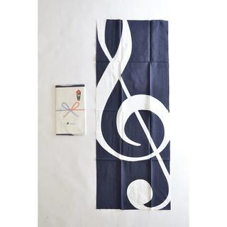 アールディーズ(aldies)のmiraco 手ぬぐいバンダナ 2枚セット 藍染め 手捺染 ミラコ(バンダナ/スカーフ)