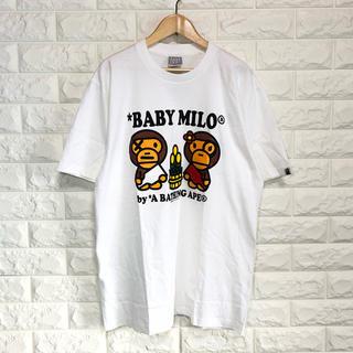 アベイシングエイプ(A BATHING APE)のA BATHING APE  プリントTシャツ(Tシャツ/カットソー(半袖/袖なし))