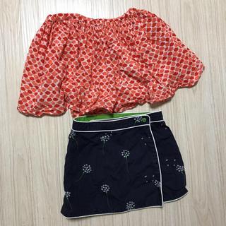 100〜110くらい サイズ不明 スカートセット(スカート)
