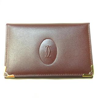 カルティエ(Cartier)のカルティエ  カードケース made in Italy(名刺入れ/定期入れ)