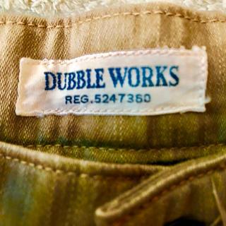 ダブルワークス(DUBBLE WORKS)のDUBBLE WORKS カーゴパンツ  ワークパンツ  アメカジ(ワークパンツ/カーゴパンツ)