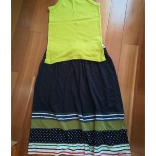 シーエルエヌ(C. L. N)のスカート CLN 新品🔖付き(ひざ丈スカート)