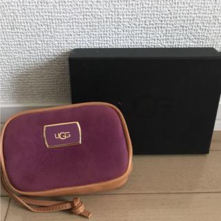 アグ(UGG)の【未使用】UGG ポーチ 紫(ポーチ)