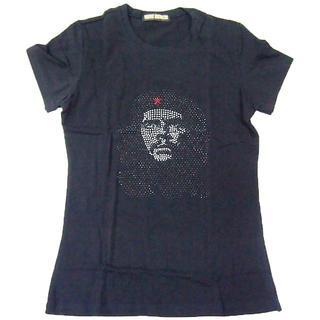 【現品のみ】チェ・ゲバラ■ラインストーン付き■Fブラック■Z006(Tシャツ(半袖/袖なし))