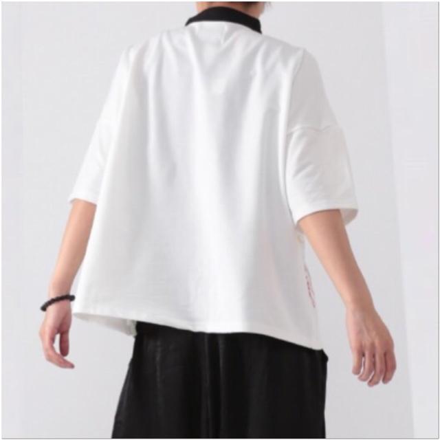 FUNKY FRUIT(ファンキーフルーツ)の[Drug]パンダの行進プリントチャイナトップス レディースのトップス(Tシャツ(半袖/袖なし))の商品写真