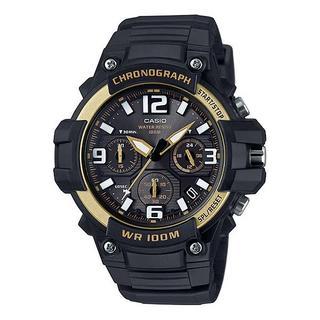カシオ(CASIO)の新品★CASIO クロノグラフ MCW-100H-9A2V ゴールド(腕時計(アナログ))