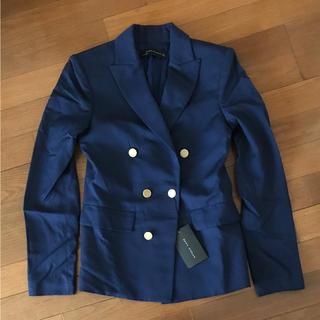 ザラ(ZARA)のタグ付 ZARA WOMAN ネイビージャケット ザラウーマン スーツ(テーラードジャケット)