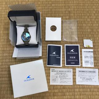 カシオ(CASIO)のCASIO オシアナス マンタ ocw-s1400(腕時計(アナログ))
