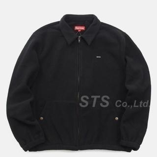 シュプリーム(Supreme)のSupreme Polartec Harrington Jacket 黒 L(ブルゾン)