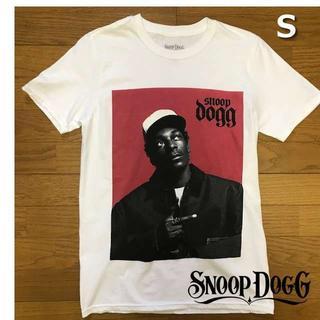スヌープドッグ(Snoop Dogg)のレア!スヌープ・ドッグ Tシャツ フォトT【S】白 新品 180718(Tシャツ/カットソー(半袖/袖なし))