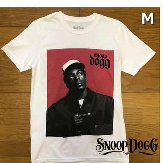 スヌープドッグ(Snoop Dogg)のレア!スヌープ・ドッグ Tシャツ フォトT【M】白 新品 180718(Tシャツ/カットソー(半袖/袖なし))