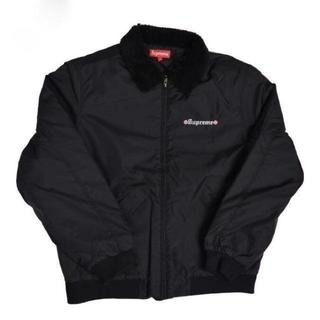 シュプリーム(Supreme)のIndependent Fur Collar Bomber Jacket 黒 M(ブルゾン)