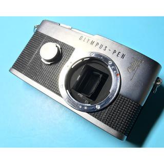 オリンパス(OLYMPUS)の大人気! ハーフサイズ一眼レフカメラ OLYMPUS PEN-F(フィルムカメラ)