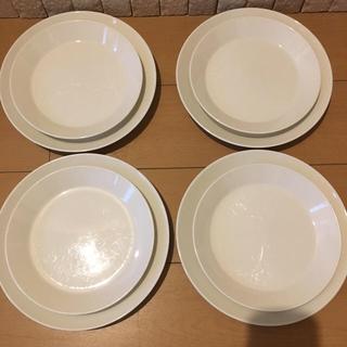 イッタラ(iittala)のイッタラ ティーマ プレート サイズ違い2種 8枚(食器)