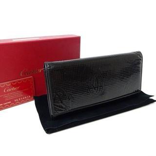 カルティエ(Cartier)のカルティエ Cartier 長 折り 財布 ハッピーバースデー エナメル1119(長財布)
