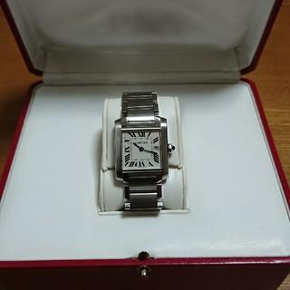カルティエ(Cartier)の⭐カルティエタンク フランセーズ 極美品⭐OH済(腕時計)