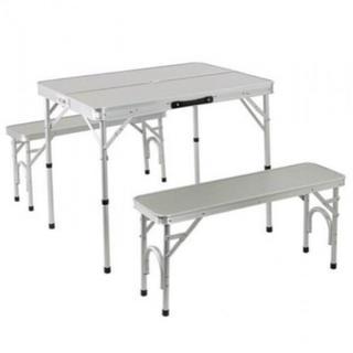 アルミ テーブル チェア セット ALPT-90 | 2WAY(テーブル/チェア)
