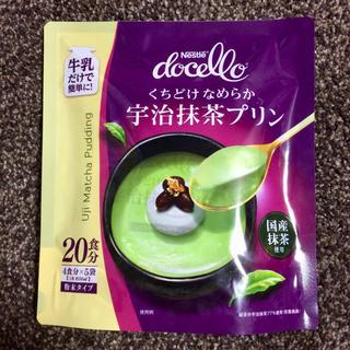 Nestle - ☆大人気☆ネスレ Docello くちどけなめらか宇治抹茶プリン 4食分x2袋