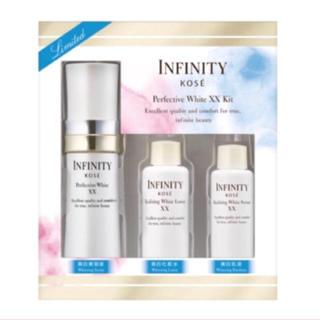 インフィニティ(Infinity)のコーセー インフィニティ パーフェクティブホワイトXX 限定キット(美容液)