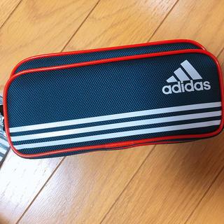 アディダス(adidas)の新品未使用 アディダス 筆箱 ペンケース 紺 赤(ペンケース/筆箱)