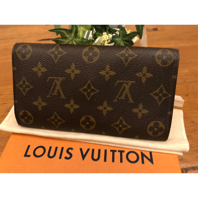 the best attitude abe84 46bfb Louis Vuitton ルイヴィトン モノグラム 長財布