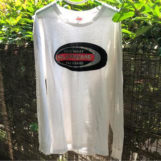 シュプリーム(Supreme)のsupreme ロングスリーブTシャツ[定価以下](Tシャツ/カットソー(七分/長袖))