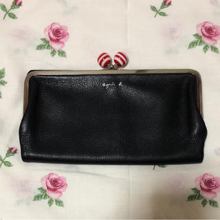 アニエスベー(agnes b.)のアニエスベー 長財布 がま口 (財布)