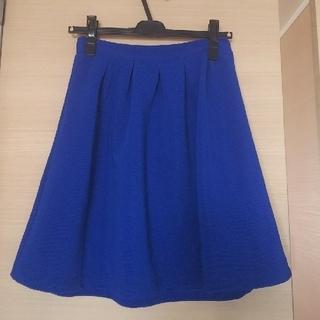 アルシーヴ(archives)のアルシーヴ  スカート Mサイズ ブルー(ひざ丈スカート)