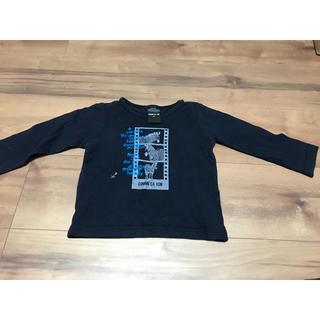 コムサイズム(COMME CA ISM)のコムサイズム ロングTシャツ 80サイズ シマウマ(Tシャツ)