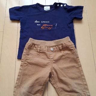 アニエスベー(agnes b.)のアニエスベー agnes b. Tシャツと半ズボンセット 80(Tシャツ)