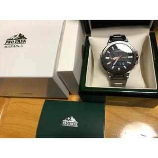 カシオ(CASIO)のプロトレック マナスル  未使用品(腕時計(アナログ))