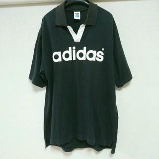 アディダス(adidas)の☆アディダス 開襟Tシャツ☆ (Tシャツ/カットソー(半袖/袖なし))