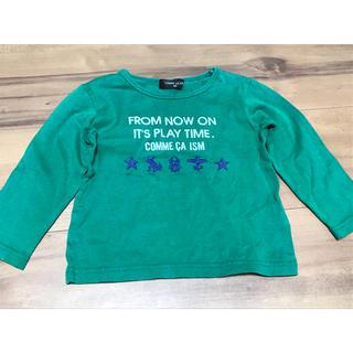 コムサイズム(COMME CA ISM)のコムサイズム 子供 80サイズ ロングTシャツ(Tシャツ)