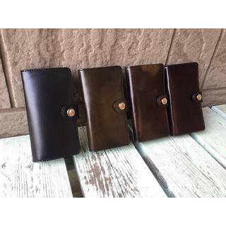 iPhone - 牛革 手帳型 スマホケース【iPhone 7,8】