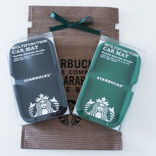 スターバックスコーヒー(Starbucks Coffee)の韓国 スタバ カーマット 小物入れ 非売品(ノベルティグッズ)