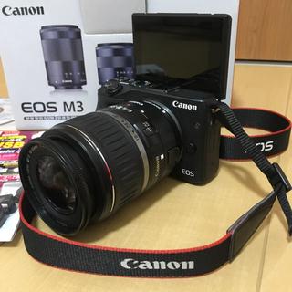 キヤノン(Canon)のEOS M3 📸カメラ女子💗(ミラーレス一眼)