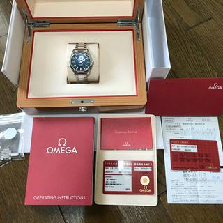オメガ(OMEGA)の今年3月購入 国内正規 オメガ シーマスター アクアテラ マスターコーアクシャル(腕時計(アナログ))
