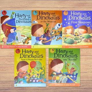 ★英語絵本5冊★「Harry and the Dinosaurs」シリーズセット(絵本/児童書)