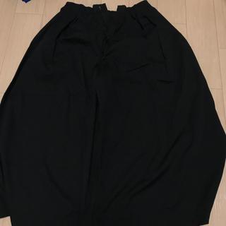 エヘカソポ(ehka sopo)のエヘカソポ 黒ワイドパンツ(カジュアルパンツ)