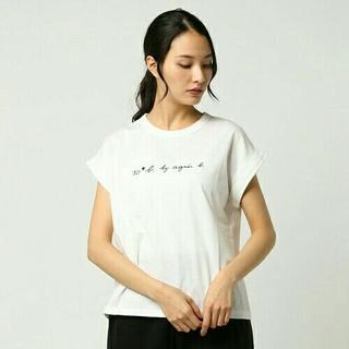 アニエスベー(agnes b.)のTo b. by agnes b W984 TS  Tシャツ ホワイト  40(Tシャツ(半袖/袖なし))