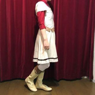 コスプレ衣装 専用ブーツカバー 赤髪の白雪姫(靴/ブーツ)