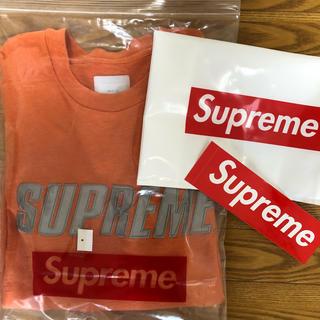 シュプリーム(Supreme)のsupreme arch logo L/S Tシャツ  S(Tシャツ/カットソー(七分/長袖))