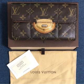 ルイヴィトン(LOUIS VUITTON)のルイヴィトン ポルトフォイユサラ モノグラムエトワール(財布)