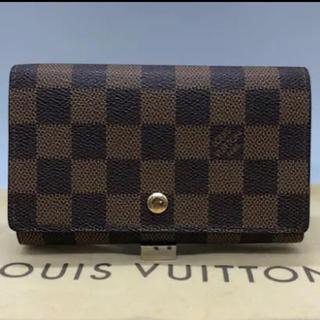 ルイヴィトン(LOUIS VUITTON)のLouis Vuitton ダミエ・エベヌ L字ファスナー 財布(財布)
